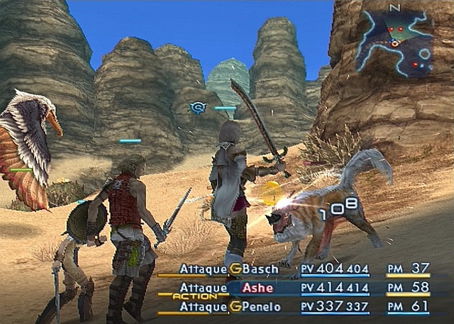Pantallazo de Final Fantasy XII para PlayStation 2