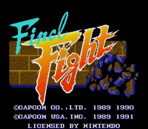 Caratula de Final Fight (Consola Virtual) para Wii
