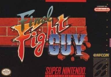 Caratula de Final Fight Guy para Super Nintendo