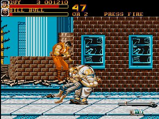 Pantallazo de Final Fight para Amiga