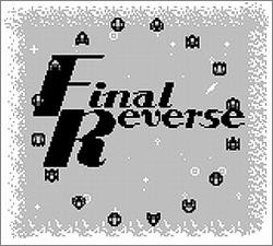 Pantallazo de Final Reverse para Game Boy