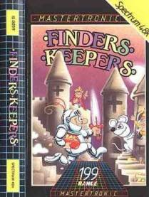 Caratula de Finders Keepers para Spectrum