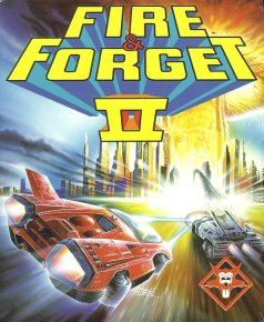 Caratula de Fire And Forget II: The Death Convoy para Amiga