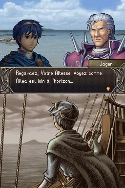 Pantallazo de Fire Emblem: Shadow Dragon para Nintendo DS