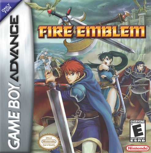 Caratula de Fire Emblem para Game Boy Advance