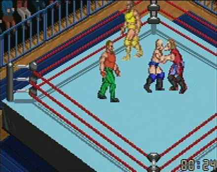 Pantallazo de Fire Pro Wrestling 2 para Game Boy Advance