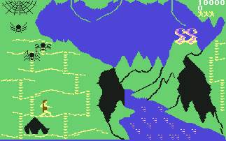 Pantallazo de Fire Quest para Commodore 64