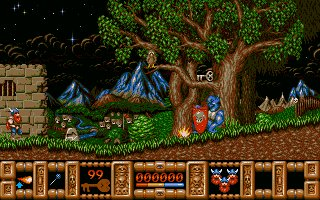 Pantallazo de Fire and Brimstone para Atari ST