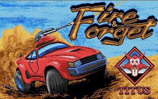Pantallazo de Fire and Forget para Atari ST