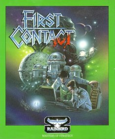 Caratula de First Contact para Amiga