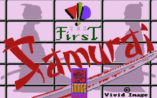 Pantallazo de First Samurai, The para Atari ST
