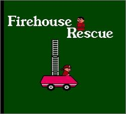 Pantallazo de Fisher-Price: Firehouse Rescue para Nintendo (NES)