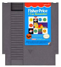 Caratula de Fisher-Price: I Can Remember para Nintendo (NES)