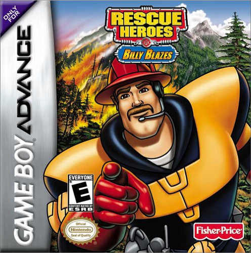 Caratula de Fisher-Price Rescue Heroes: Billy Blazes para Game Boy Advance