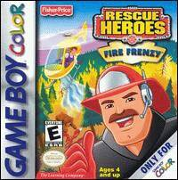 Caratula de Fisher-Price Rescue Heroes: Fire Frenzy para Game Boy Color