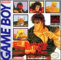 Caratula de Fist of the North Star para Game Boy