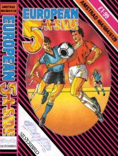 Caratula de Five-A-Side Footy/European 5-A-Side para Amstrad CPC