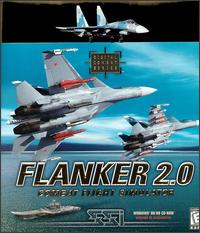 Caratula de Flanker 2.0: Combat Flight Simulator para PC