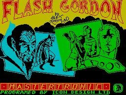 Pantallazo de Flash Gordon para Spectrum