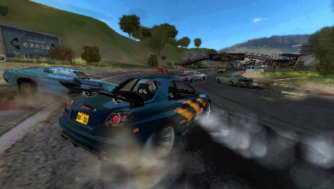 Pantallazo de FlatOut Head On para PSP