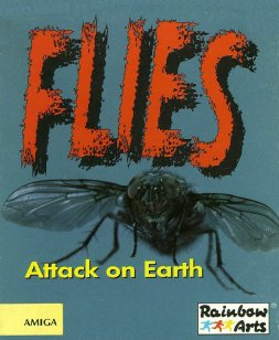 Caratula de Flies: Attack On Earth para Amiga