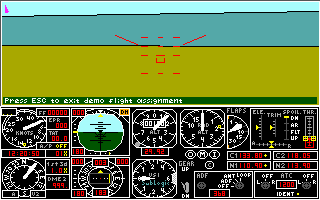 Pantallazo de Flight Assignment: A.T.P. (Airline Transport Pilot) para PC