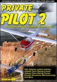 Caratula de Flight Sim: Private Pilot 2 para PC