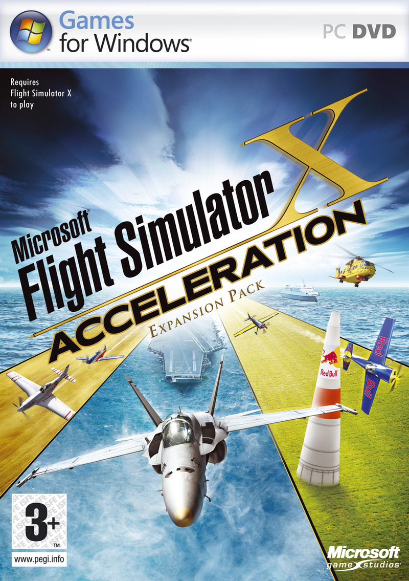 Caratula de Flight Simulator X: Acceleration Expansion Pack para PC