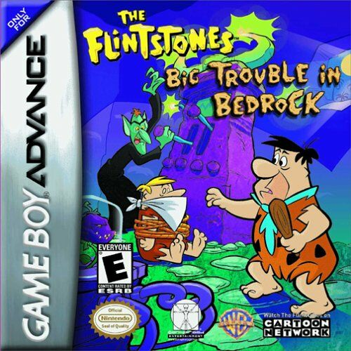 Caratula de Flintstones: Big Trouble in Bedrock, The para Game Boy Advance
