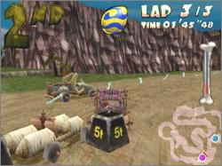 Pantallazo de Flintstones in Viva Rock Vegas, The para GameCube