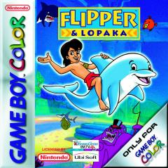 Caratula de Flipper & Lopaka para Game Boy Color