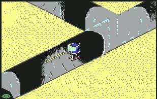 Pantallazo de Floyd the Droid para Commodore 64