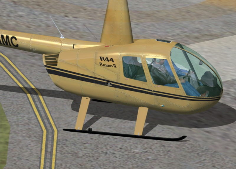 Pantallazo de Flying Club R44 Helicopter para PC
