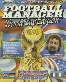 Caratula de Football Manager: World Cup Edition para Amiga