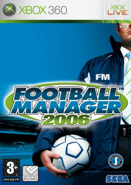 Caratula de Football Manager 2006 para Xbox 360