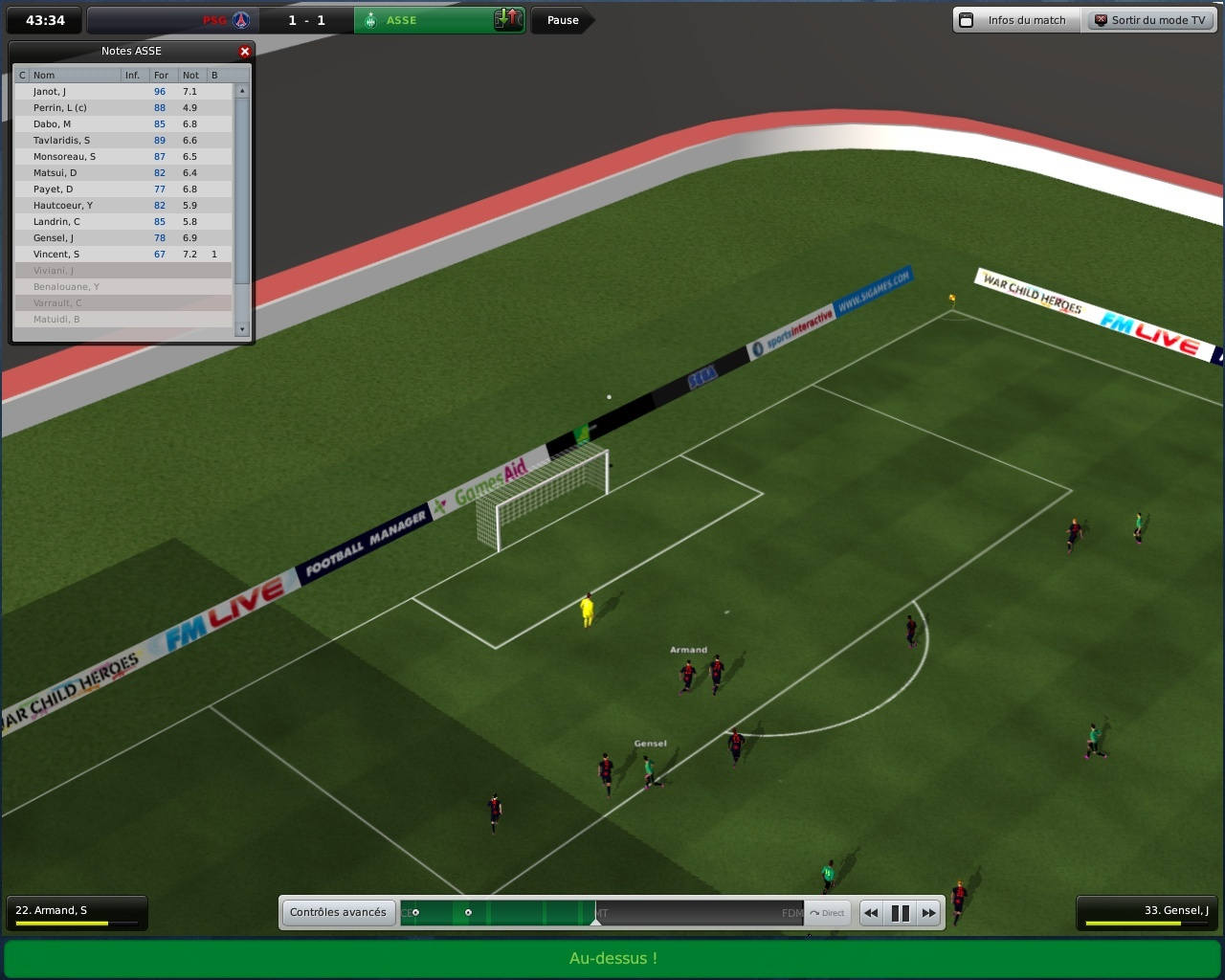 Pantallazo de Football Manager 2009 para PC