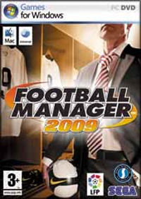 Caratula de Football Manager 2009 para PC
