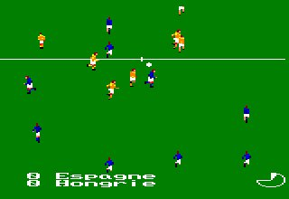 Pantallazo de Football Manager World Cup Edition para Amstrad CPC