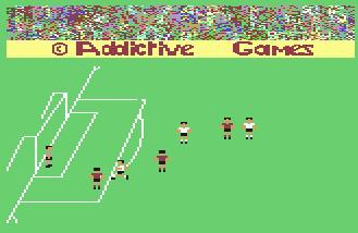 Pantallazo de Football Manager para Commodore 64