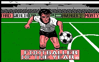 Pantallazo de Footballer Of The Year para Amstrad CPC