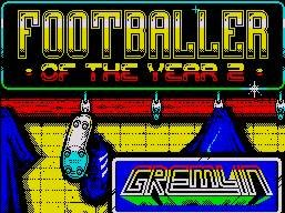 Pantallazo de Footballer of the Year 2 para Spectrum