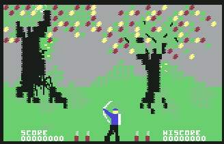 Pantallazo de Forbidden Forest para Commodore 64
