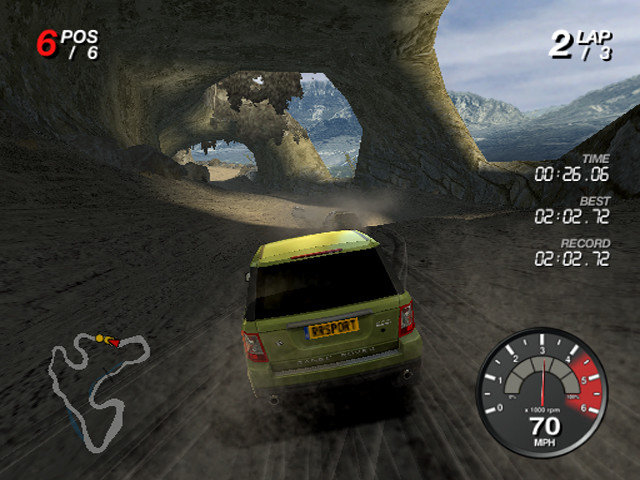 Pantallazo de Ford Racing Off Road para PlayStation 2