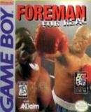 Caratula nº 18242 de Foreman for Real (220 x 191)