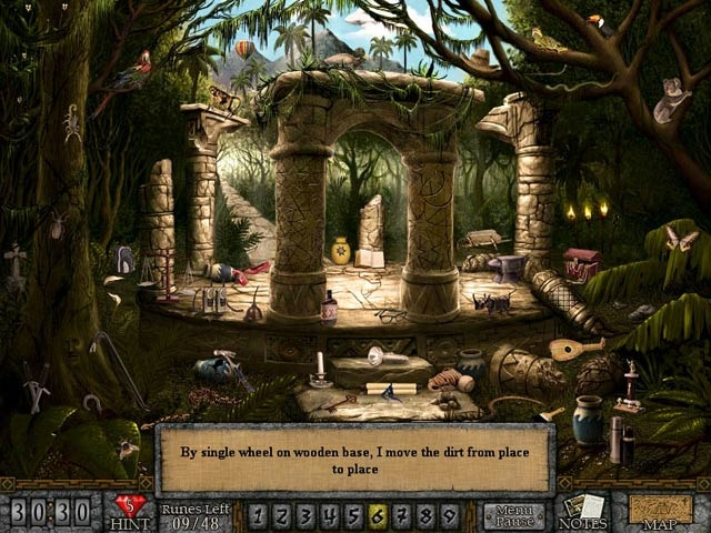 Pantallazo de Forgotten Riddles - The Mayan Princess para PC