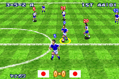 Pantallazo de Formation Soccer 2002 (Japonés) para Game Boy Advance