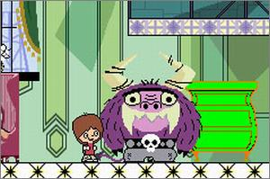 Pantallazo de Foster's Home for Imaginary Friends para Game Boy Advance