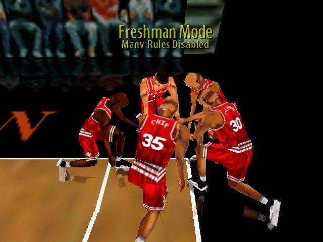 Pantallazo de Fox Sports College Hoops '99 para Nintendo 64
