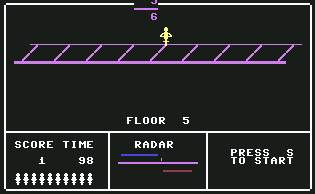 Pantallazo de Fraction Fever para Commodore 64