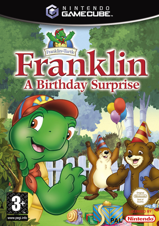 Caratula de Franklin: A Birthday Surprise para GameCube